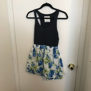EUC Abercrombie & Fitch FLORAL dress size L